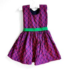 Baby Dress  Baby Girl Dress  Size 3T  4T   Fuchsia by PaisleyMagic, $36.99