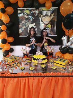 Girl Birthday Themes, 8th Birthday, Birthday Parties, Birthday Ideas, Naruto Comic, Anime Naruto, Bolo Naruto, Naruto Party Ideas, Naruto Birthday
