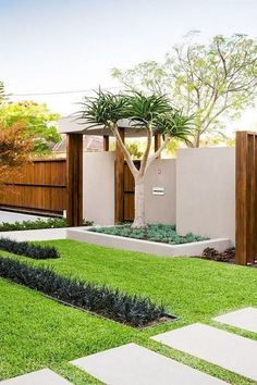 4 Friendly Clever Tips: Large Backyard Garden Awesome simple backyard garden ideas.Backyard Garden Ideas On A Budget backyard garden layout shape.Backyard Garden Ideas On A Budget. Front Yard Garden Design, Small Front Yard Landscaping, Small Backyard Gardens, Backyard Garden Design, Modern Landscaping, Backyard Landscaping, Landscaping Ideas, Stone Landscaping, Inexpensive Landscaping