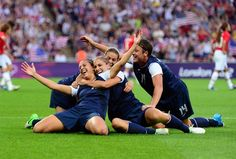 GOOOOOLD!!!  United States vs Japan, Gold Medal Match Olympics