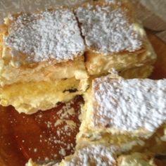 Tranci di Millefoglie con sfoglia,pan di spagna e crema chantilly .  #gluten-free #senzaglutine
