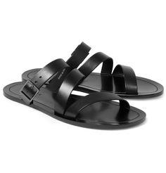 85d891355b7b Dan Ward Leather Sandals