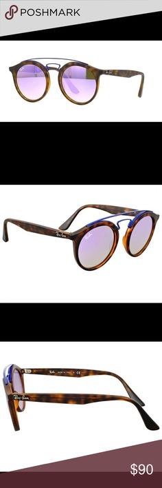 31f3547a401 RayBan Sunglasses Ray Ban Sunglasses. Size: 46. Shape: Round. Lens Width