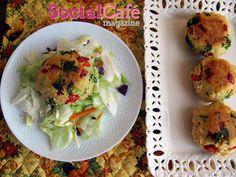 Veggie Couscous Cakes Recipe