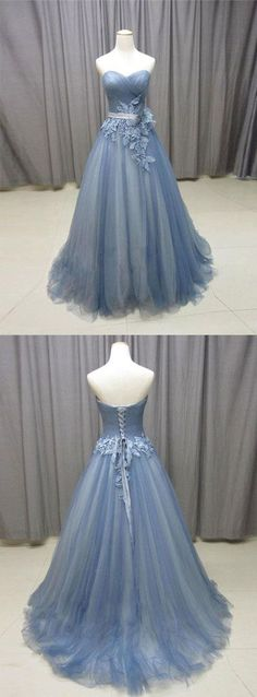 Gorgeous Flowers Sweetheart Tulle Ball Gowns Quinceanera
