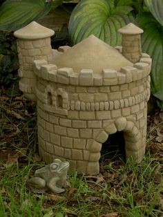 If I am going to get a Toad House for my garden, my toad is going to live in a castle!