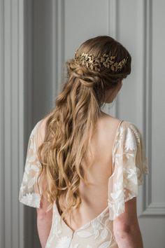 Alena envuelva diadema anillo de pan de oro por AnnaMarguerite
