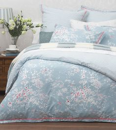 Belle quilt cover from Laura Ashley Australia.