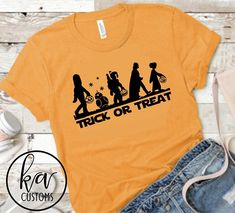 Heading to the Parks for all the upcoming Halloween Parties they will be hosting? This is the perfect tee to wear while you are there! Shirts are made on Bella = Canvas unisex tees. This shirt style is true to size with a relaxed fit with some room to move in. When caring for this