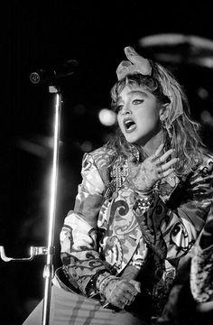 Madonna Virgin Tour 1985