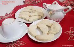 Biscotti con farina di riso allo yogurt