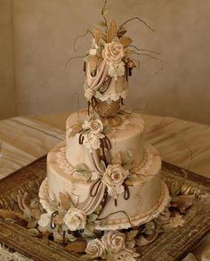 classic wedding cakes | vintage wedding cake, Julia M Usher