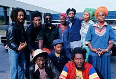 The Marley Family — Bob Marley & The Wailers, Holland 1976 Photo by. Bob Marley Legend, Reggae Bob Marley, Calypso Music, Bob Marley Pictures, Dennis Brown, Marley Family, Reggae Artists, Robert Nesta, Nesta Marley