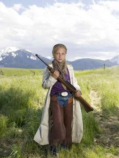 Rachel of Livingston, Mont., with a Ruger 10/22 carbine - from 'Chicks With Guns' book