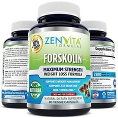 Pure Forskolin w/ 40% Standardized Extract, 90 Capsules, 300 mg Coleus Forskohlii Root Extract, MAX Strength Belly Fat Buster, Natural Weight Loss Supplement, Appetite Suppressant, Carb Blocker, and Fat Burner. 100% Money Back Guarantee! No Risk - Lose Weight or Your Money Back by ZenVita Formulas: Health & Personal Care https://redd.it/3ue3ig