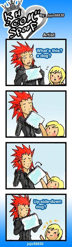 KH COM Spoof: Artist by jojo56830.deviantart.com on @deviantART