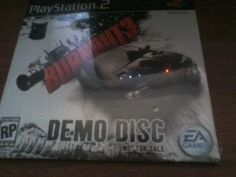 SLUS-29113 - PS2 Demo - Burnout 3 - SEALED and NEW
