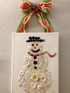 Snowman ~ I like the idea of this!  :)
