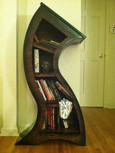 A shelf to go with the Beauty and the Beast themed grandfather clock. :)
