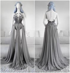 What would you say about this idea –sewing an etheral pastel pink version of the Hidden Quartz gown? Elegant Dresses, Pretty Dresses, Beautiful Dresses, Ball Dresses, Ball Gowns, Evening Dresses, Fairytale Dress, Fairy Dress, Fantasy Gowns