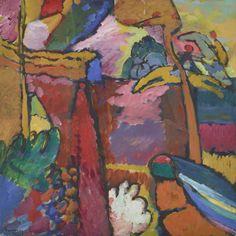 Wassily Kandinsky (Russian, 1866-1944), Study for Improvisation V, 1910. Oil on…