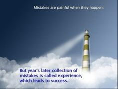 Fail forwards