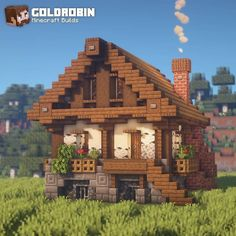 minecraft survival houses cozy cabin mansion medieval follow little источник