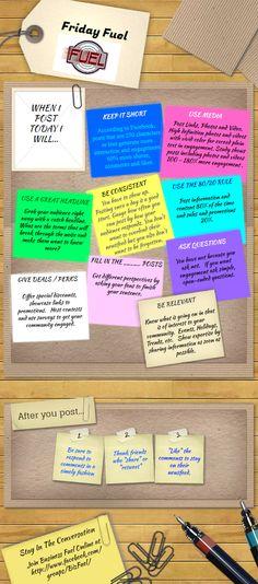 Friday Fuel Posting Best Practices #socialmedia #tips