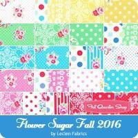 Flower Sugar Fall 2016 Fat Quarter Bundle Lecien Fabrics