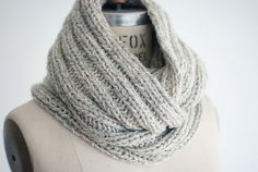 knit the look::@cocoknitsjulie free pattern Double Wrap Cowl
