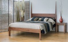 African in style the Togo is an elegant, exotic solid wood bed with 2 shaped posts to the headboard. Made in Sheffield. Modern Bedroom Decor, Pine Bedroom Furniture, Solid Wood, Bedding Websites, Bed, Solid Wood Bed, Bedroom Furniture, Furniture, Timber Beds