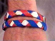 woven duct tape bracelets
