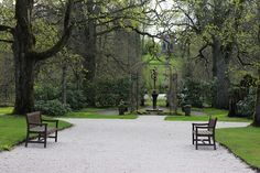 Going in Manor park | by visitsouthcoastfinland #visitsoutcoastfinland #mustionlinna #Finland