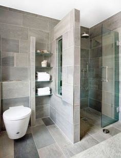 65 Stunning Contemporary Bathroom Design Ideas To Inspire Your Next Renovation - Gravetics