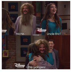 """#GirlMeetsWorld 2x05 """"Girl Meets Mr. Squirrels"""" - Riley and Eric"""