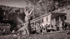 Hippie trommelaars Benirras