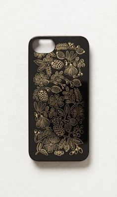 Seeded Bouquet iPhone 5 Case | Anthropologie