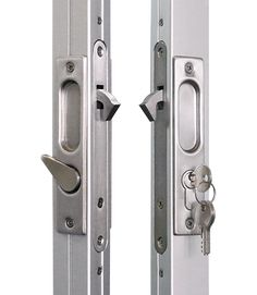 Types Of Handles: Lever Handle Set With Deadbolt   The Sliding Door Company