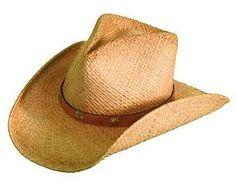 390148876a2 Shady Brady Pinchfront Raffia Straw Hat Cowboy Hats