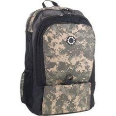 DadGear - Backpack Diaper Bag (Men's) - Universal Camouflage