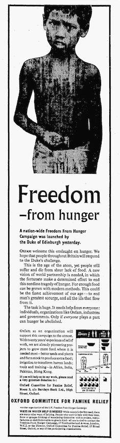 Oxfam. 28 June, 1962