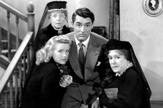 Cary Grant. 'Arsenic and Old Lace'. Frank Capra. 1946.