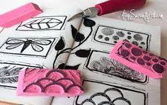 Image result for diy eraser stamp