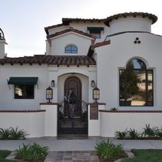 spanish courtyard gate | Spanish Style Gate Design Ideas, Pictures, Remodel, and Decorñh u y