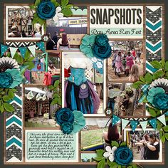 Cindy's Layered Templates - Single 61: Lots of Snapshots 30 by Cindy Schneider Great Outdoors: Explore by Kristin Cronin-Barrow