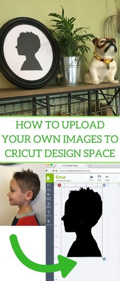 How to upload your own images to Cricut Design Space.