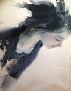 Henrik Uldalen (b Korea, resides in Norway) Portraits, Portrait Art, Henrik Uldalen, Satsuriku No Tenshi, Cafe Art, High Art, Figure Painting, Figurative Art, Lovers Art