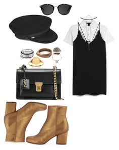 """Untitled #197"" by fashion-inspirationscx on Polyvore featuring Marc by Marc Jacobs, MANGO, Carrera, Yves Saint Laurent, Maison Margiela, Jacquie Aiche, David Yurman, MIANSAI, Fendi and Kevin Jewelers"