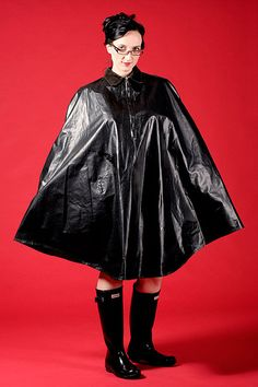 Capes, Shiny Days, Rain Wear, Riding Boots, Erotic, What To Wear, Raincoat, Goth, Kitty