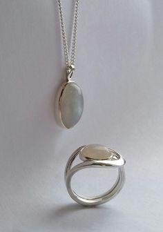 Erna LieMoon Ring Pendant Silver